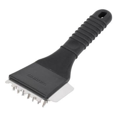 """Waring """"Waring WDG250T Grooved Top & Smooth Bottom Panini Sandwich Grill with Timer - 14 1/2"""""""" x 11"""""""" Cooking Surface - 120V, 1800W"""""""