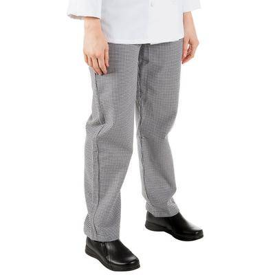 Mercer Culinary Genesis M61070 Houndstooth Women's Chef Pants - Small