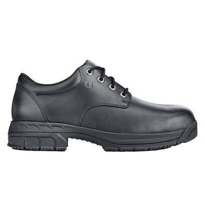 Shoes For Crews 79333W Cade Men's Size 10 1/2 Wide Width Black Water-Resistant Steel Toe Non-Slip Work Boot