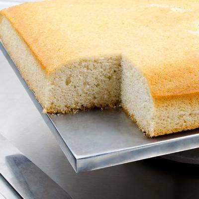 National Foods Packaging 5 lb. White Cake Mix - 6/Case