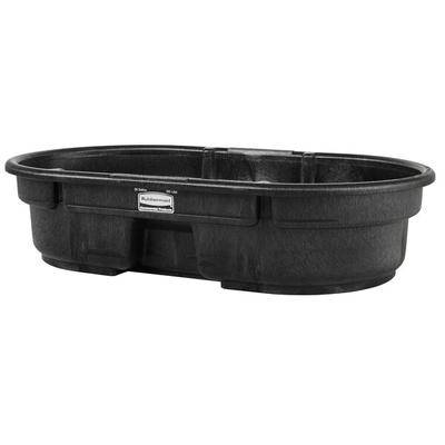 Rubbermaid FG424300BLA 50 Gallon Black Structural Foam Stock Tank
