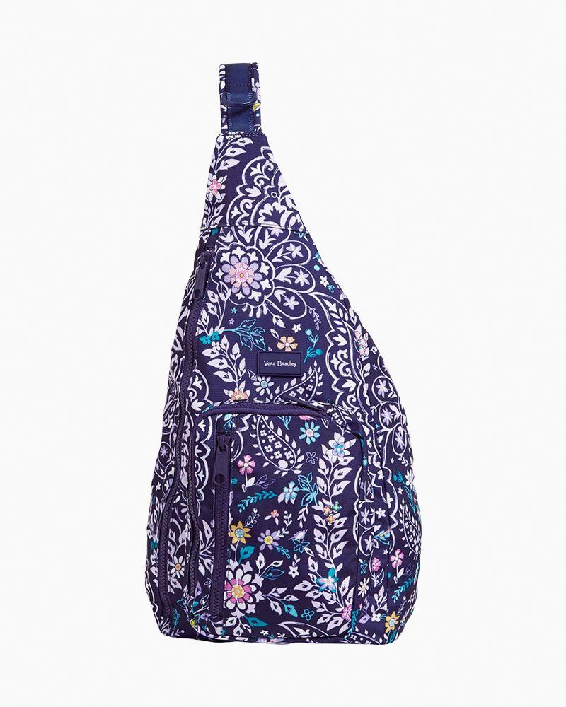Vera Bradley ReActive Sling Backpack in Belle Paisley