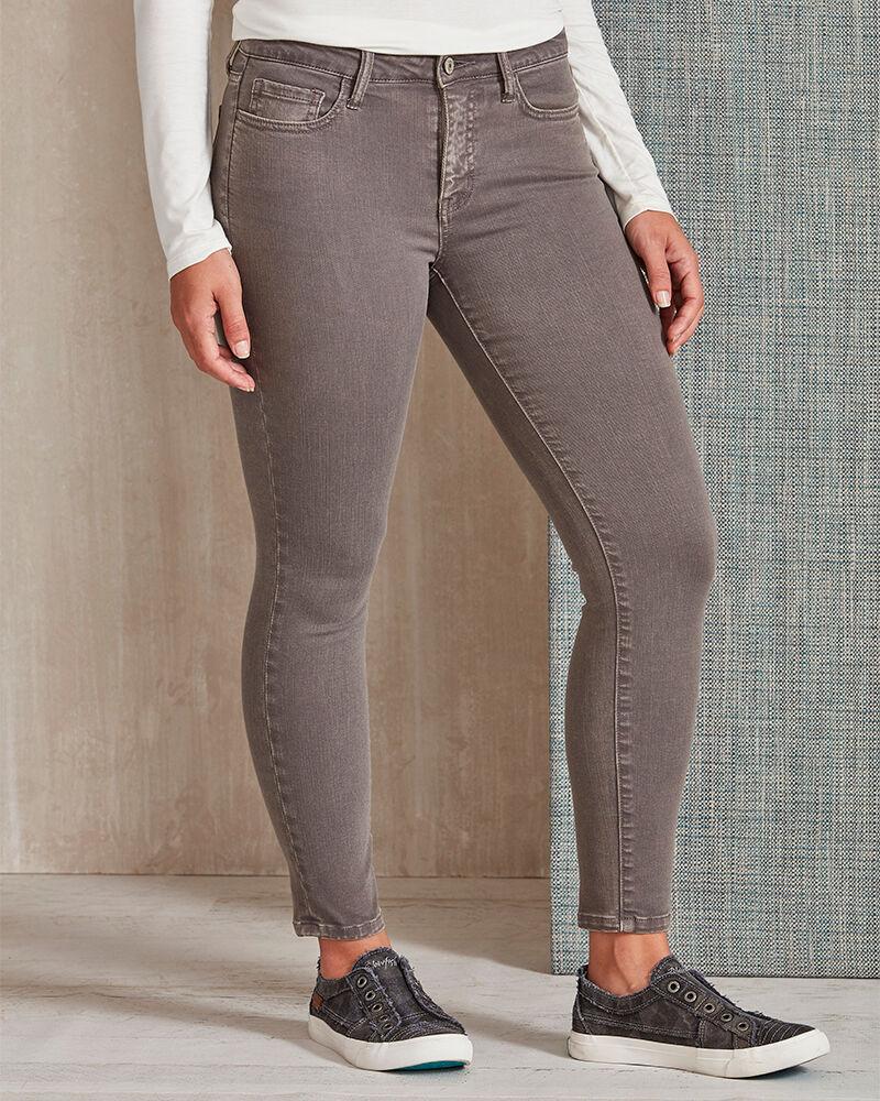 VERVET Grey Fashion Skinny Jeans