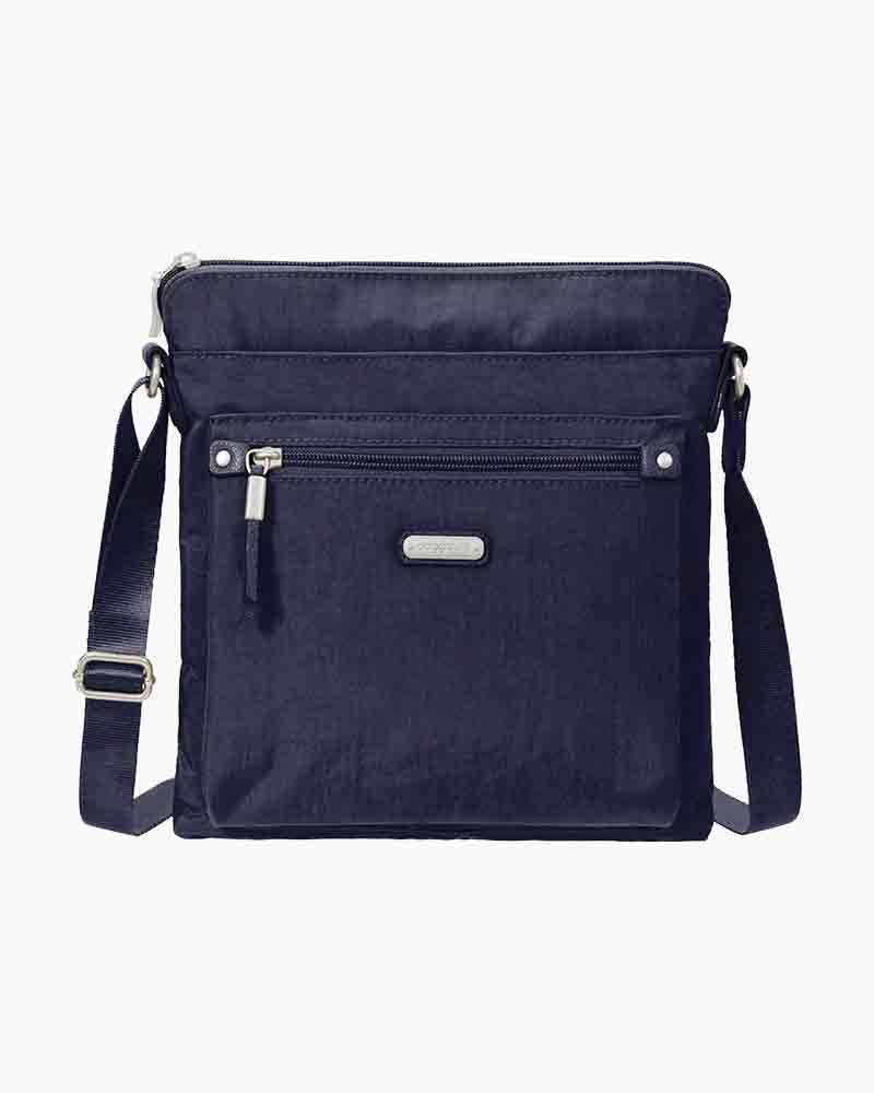 baggallini Go Bagg with RFID Phone Wristlet in Navy