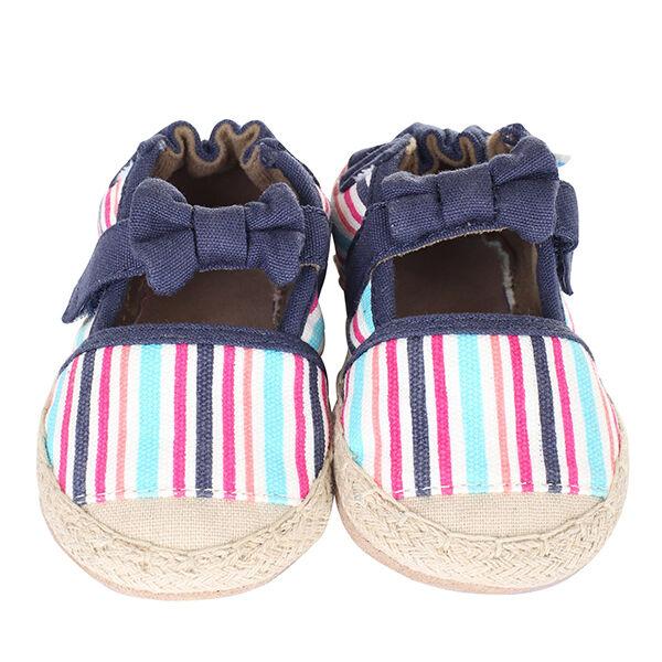 Robeez Colorful Espadrille Soft Soles Infant Shoes
