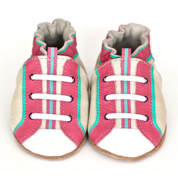 Robeez Sparkle Play Soft Soles Infant Shoes