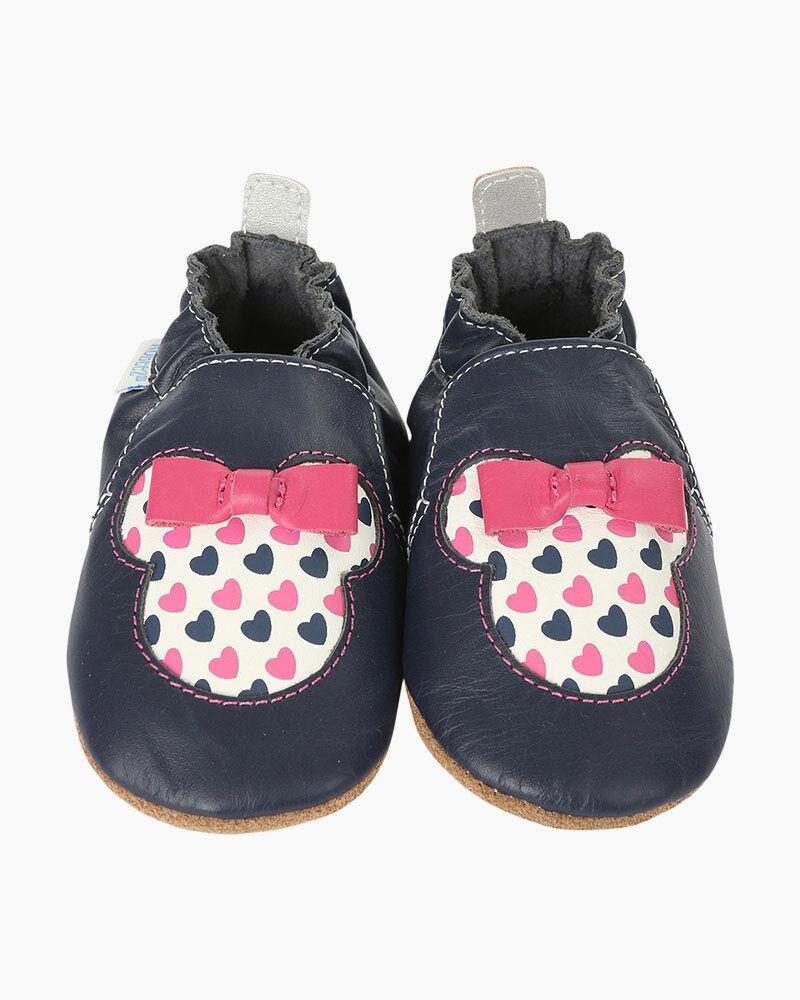 Robeez Minnie Floral Soft Soles Infant Shoes