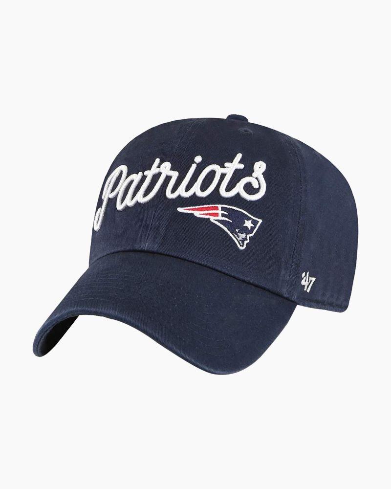 '47 Women's New England Patriots Millie Clean Up Cap