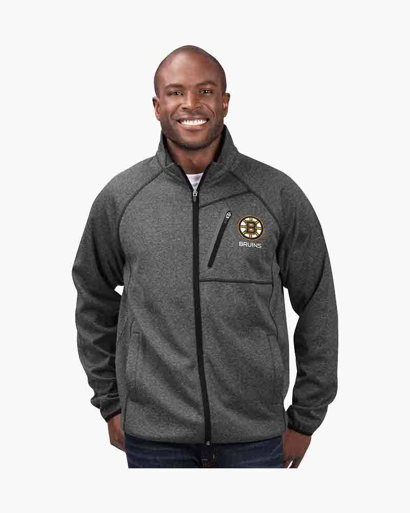 G-III Sports Men's Boston Bruins Full Zip Switchback Jacket