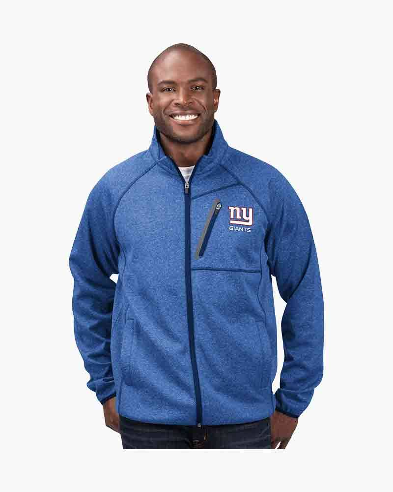 G-III Sports Men's New York Giants Full Zip Switchback Jacket
