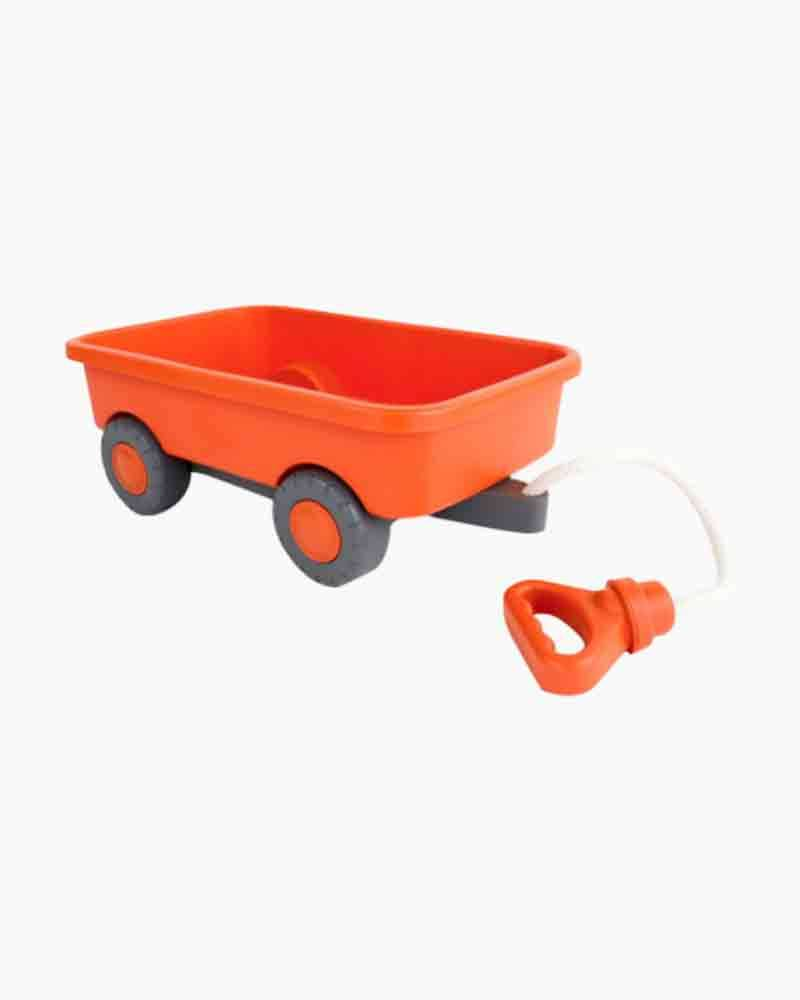Green Toys Wagon Outdoor Toy in Orange