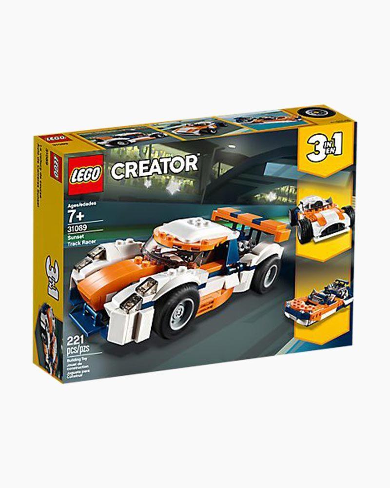 Lego Toys LEGO Creator 3-in-1 Sunset Track Racer