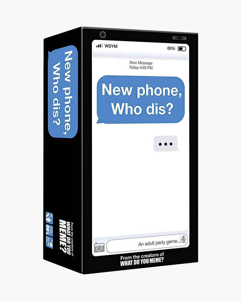 What Do You Meme LLC New Phone, Who Dis? Adult Party Game