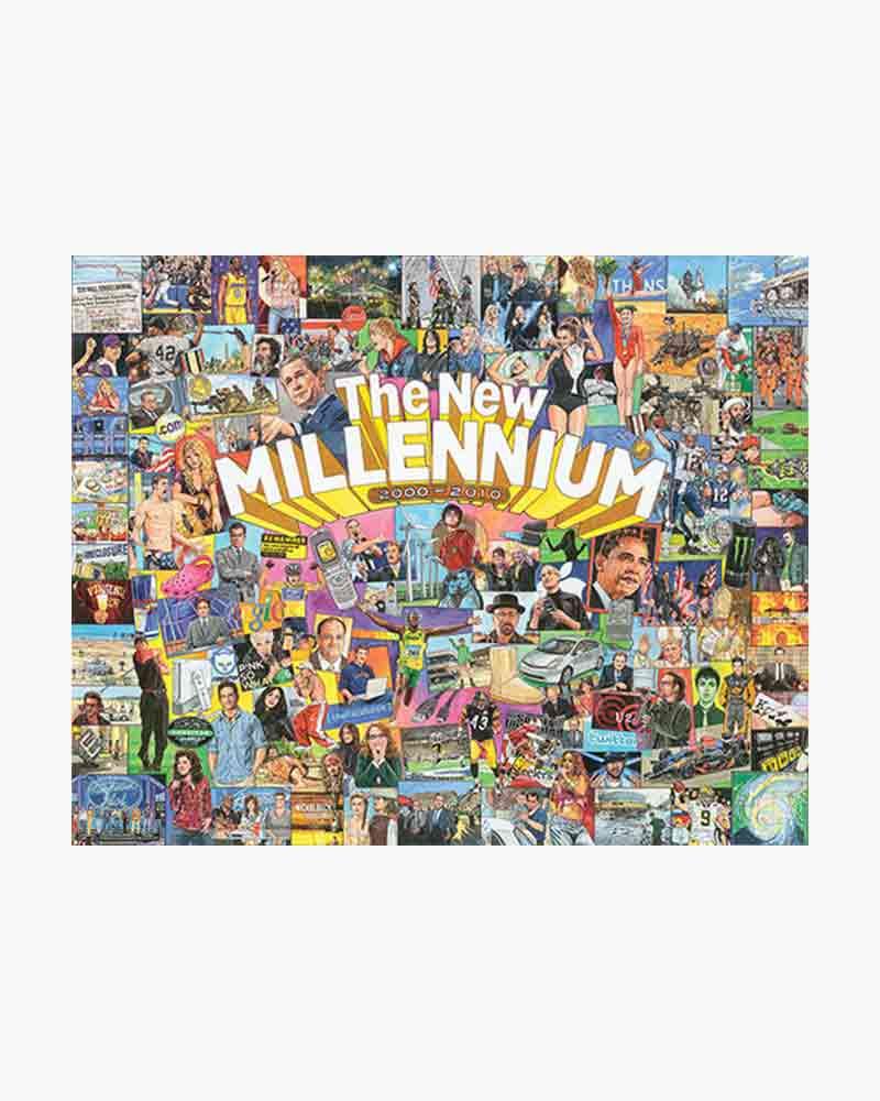 White Mountain Puzzles The New Millennium Jigasw Puzzle (1,000 pc)