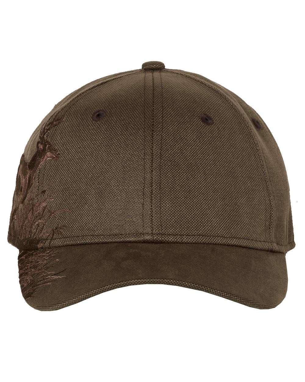 DRI DUCK - Running Buck Cap - 3301 - Brown Waxy Canvas - Adjustable - One Size
