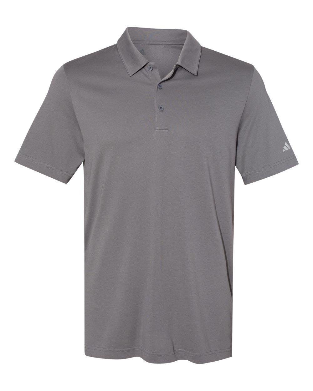 Adidas - Cotton Blend Sport Shirt - A322 - Grey Four - X-Large