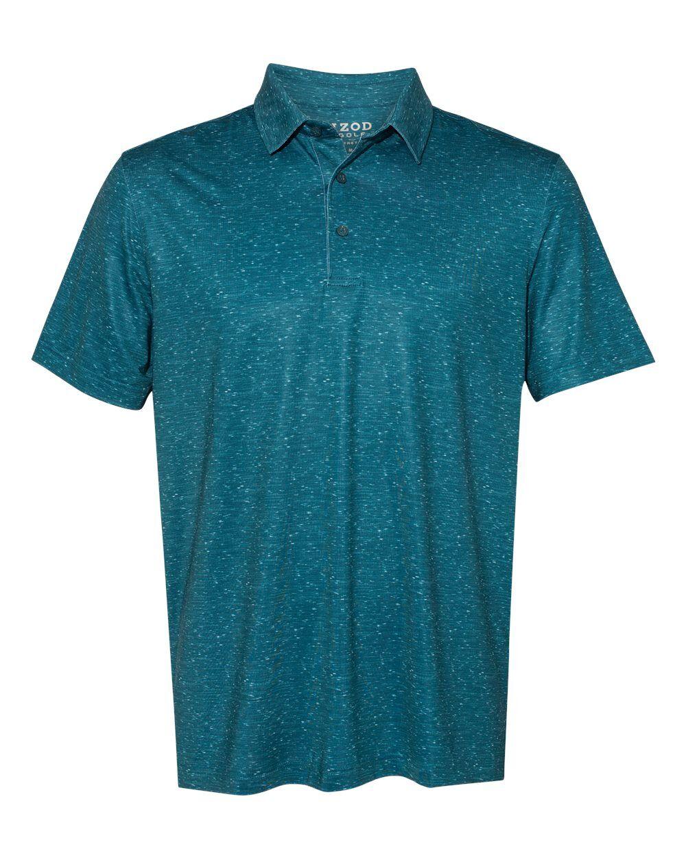 IZOD - Sublimated Confetti Sport Shirt - 13GG006 - Legion Blue - Large