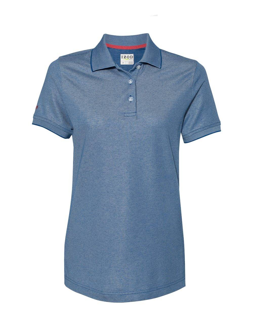 IZOD - Women's Advantage Performance Sport Shirt - 13GK462 - True Blue - Large