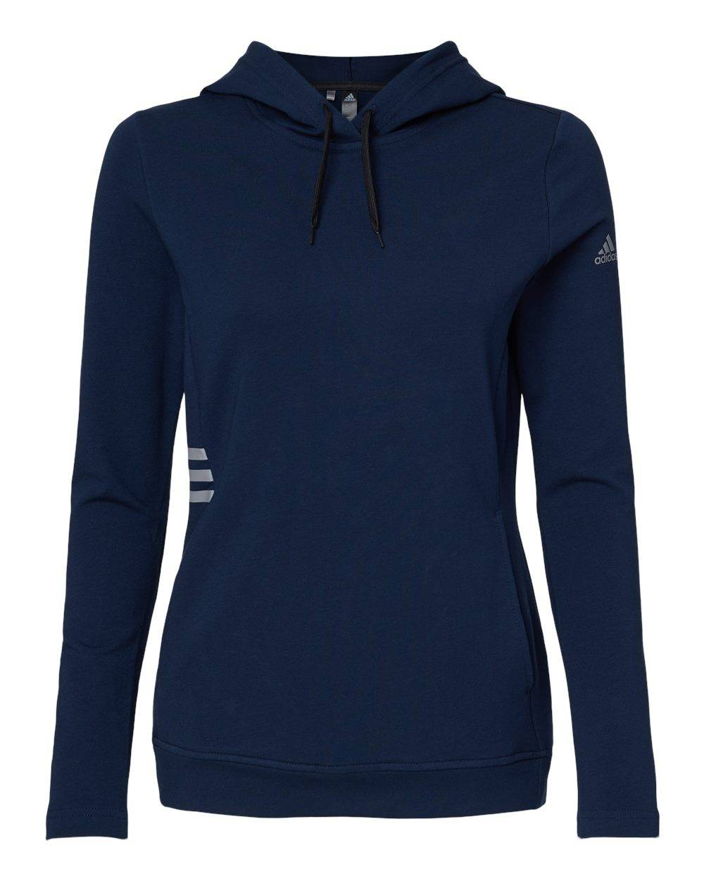 Adidas - Women's Lightweight Hooded Sweatshirt - A451 - Collegiate Navy - 3X-Large