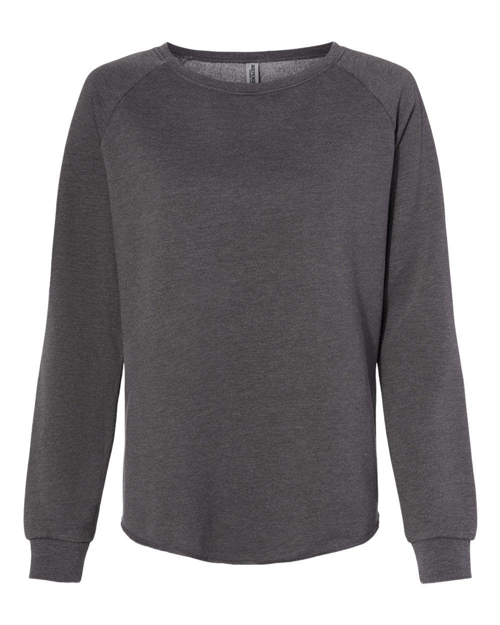 Independent Trading Co. - Women's California Wave Wash Crewneck Sweatshirt - PRM2000 - Shadow - 2X-Large