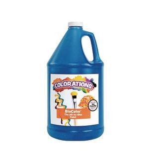Discount School Supply BioColor Paint   1 Gallon Blue by Discount School Supply