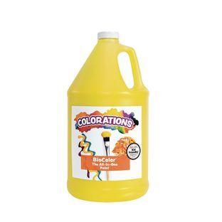 Discount School Supply BioColor Paint   1 Gallon Yellow by Discount School Supply