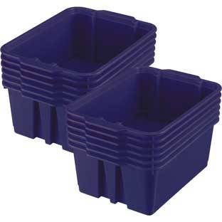 Really Good Stuff Inc Classroom Stacking Bins   12 bins Royal Purple by Really Good Stuff Inc