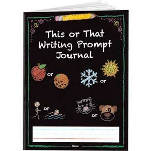 Really Good Stuff Inc This Or That Writing Prompt Journals   12 journals by Really Good Stuff Inc