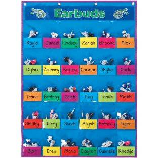 Really Good Stuff Inc Student Park And Store Pocket Chart   1 pocket chart 46 cards by Really Good Stuff Inc