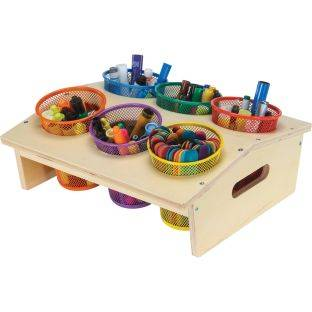 Really Good Stuff Inc Mobile Storage Rack Accessories Large Cup Storage   1 holder 6 cups by Really Good Stuff Inc