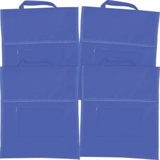Really Good Stuff Inc Solid Color Book Pouches   Set Of 4 Blue by Really Good Stuff Inc