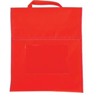 Really Good Stuff Inc Solid Color Book Pouches   Set Of 36 Red by Really Good Stuff Inc