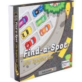 Really Good Stuff Inc Find A Spot Letter Recognition Game   1 game by Really Good Stuff Inc
