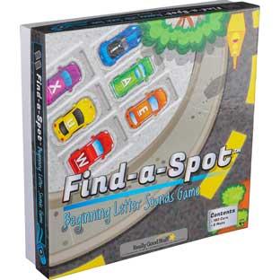 Really Good Stuff Inc Find A Spot Beginning Letter Sounds Game   1 game by Really Good Stuff Inc