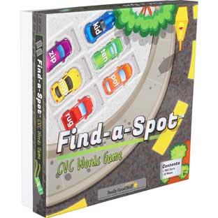Really Good Stuff Inc Find A Spot CVC Words Game   1 game by Really Good Stuff Inc
