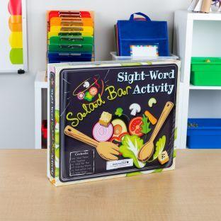 Really Good Stuff Inc Sight Word Salad Bar Activity   1 game by Really Good Stuff Inc