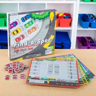 Really Good Stuff Inc Find A Spot Sight Words   1 game by Really Good Stuff Inc