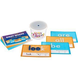 Really Good Stuff Inc Sight Words Dough Kit   50 task cards 1 tub of dough by Really Good Stuff Inc