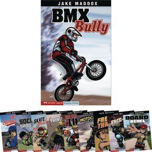 Capstone Press Jake Maddox Sport 10 Book Set by Capstone Press