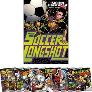 Capstone Press Sports Illustrated Kids Graphic Novels 12 Book Set by Capstone Press
