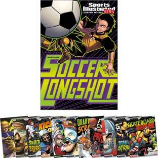 Capstone Press Sports Illustrated Kids Graphic Novels 12 Book Set by Capstone Press