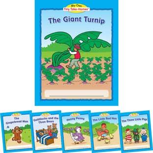 Really Good Stuff Inc My Own Tiny Take Homes Folktales   36 books by Really Good Stuff Inc
