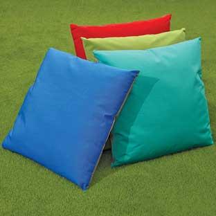 Discount School Supply MyPerfectClassroom Indoor Outdoor 27  Pillows   Set of 4 by Discount School Supply