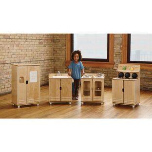 Jonti-Craft Inc TrueModern Play Kitchen 4 Piece Set by Jonti-Craft Inc