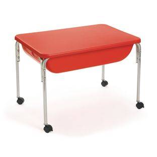The Children's Factory 24  Large Sensory Table With Lid   1 table 1 lid by The Children's Factory