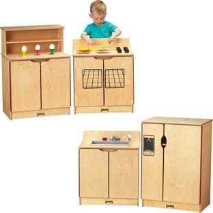 Jonti-Craft Inc Jonti Craft Kinder Kitchen   4 Piece Set by Jonti-Craft Inc