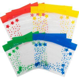 Really Good Stuff Inc Really Good Stuff Group Color Storage Bags   12 bags by Really Good Stuff Inc