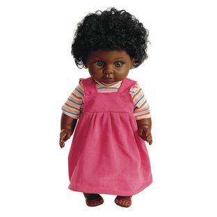 Discount School Supply 16  Multicultural Toddler Doll   African American Girl   1 doll by Discount School Supply