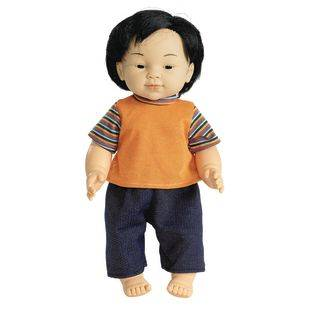 Discount School Supply 16  Multicultural Toddler Doll   Asian Boy   1 doll by Discount School Supply