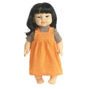 Discount School Supply 16  Multicultural Toddler Doll   Asian Girl   1 doll by Discount School Supply